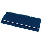 Планинг недатированный Bliss, белый блок, без обреза, темно-синий фото