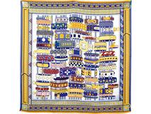 Платок шелковый Lady Hamilton, разноцветный фото