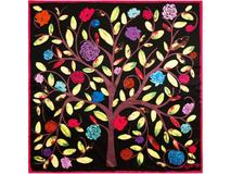 Платок шелковый Ungaro Albero della Vita, разноцветный фото