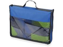 Плед Ла-Биш, серый, синий, зеленый, разноцветный фото