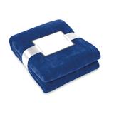 Флисовое одеяло 180 гр./м2, синий фото