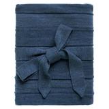 Плед Pleat, синий фото