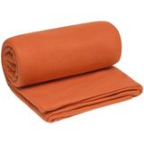 Плед-спальник дорожный Snug, флис, оранжевый фото