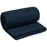 Плед-спальник дорожный Snug, флис, синий фото