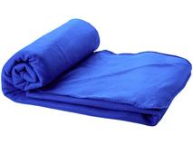 Плед флисовый в чехле Huggy, синий фото