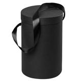 Подарочная коробка Rond, черная фото