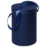 Подарочная коробка Rond, синяя фото