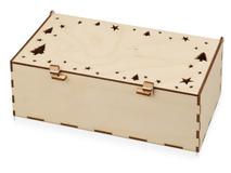 Подарочная коробка Шкатулка, бежевый фото