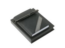 Подарочный набор: блокнот А6, ручка шариковая, чёрный фото