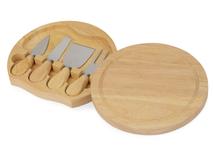 Подарочный набор для сыра в деревянной упаковке Reggiano фото