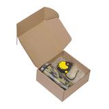 Подарочный набор Эксперт, коричневый, желтый фото