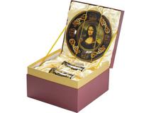 Подарочный набор Мона Лиза: блюдо для сладостей, две кружки фото