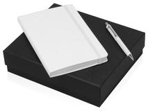 Подарочный набор Moleskine Hemingway с блокнотом А5 и ручкой, белый фото