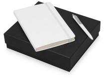 Подарочный набор Moleskine Picasso с блокнотом А5 и ручкой, белый фото