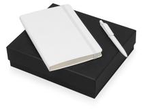 Подарочный набор Moleskine Sherlock с блокнотом А5 и ручкой, белый фото