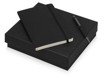 Подарочный набор Moleskine Van Gogh с блокнотом А5 и ручкой, черный фото