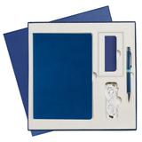 Подарочный набор Portobello Canyon City: Ежедневник недатированный, Ручка, Power Bank, ярко-синий фото