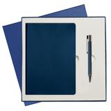Подарочный набор Portobello Latte: Ежедневник недатированный, Ручка, синий фото
