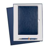 Подарочный набор Portobello River Side: Ежедневник недатированный А5, Ручка, синий фото