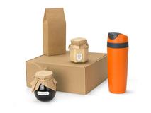Подарочный набор Tea Cup Superior Honey, коричневый/ оранжевый фото