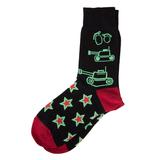 Подарочный набор Звезды, упаковка, носки тематические фото