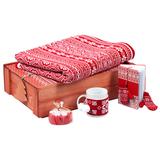 Подарочный новогодний набор Уютный зимний вечер, красный фото