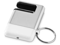 Подставка-брелок для мобильного телефона GoGo, серый, белый фото