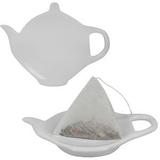 Подставка для чайных пакетиков, белый фото