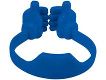 Подставка для медиаустройств, синий фото