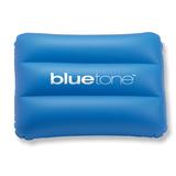 Подушка надувная пляжная, синий фото