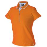 Поло женское JRC Rodi Lady, оранжевое фото