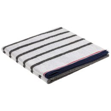 Полотенце Athleisure Strip Medium, белое фото