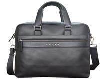 Портфель CROSS Nueva FV, карман на молнии, карман на кнопке, два универсальных кармана, два кармана для пишущих принадлежностей, черный фото