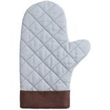 Прихватка-рукавица Keep Palms, серо-голубая фото