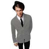 Пиджак мужской Illusion/men, серый фото
