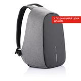 Рюкзак Bobby Pro с защитой от карманников, серый фото