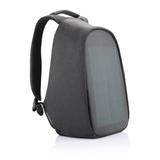 Рюкзак Bobby Tech с защитой от карманников, с солнечной батареей, серый фото