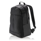 Рюкзак для ноутбука Power с USB-портом, черный фото