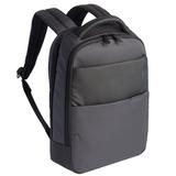Рюкзак для ноутбука Qibyte Laptop Backpack, темно-серый с черными вставками фото