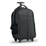 Рюкзак на колесах, серый фото