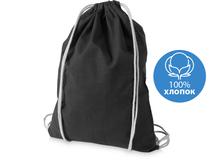 Рюкзак хлопковый Oregon, черный фото