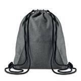 Рюкзак с карманом, черный фото