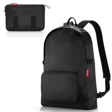 Рюкзак складной mini maxi black, черный фото