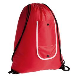 Рюкзак складной Unit Roll, красный фото