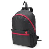Рюкзак TOWN, черный/ красный фото
