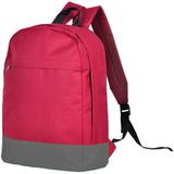 Рюкзак URBAN, красный/ серый, 39х29х12 cм, полиэстер 600D, шелкография фото