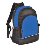 Рюкзак ХИТ, черный, синий фото