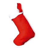 Рождественский сапожок, красный фото