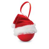 Рождественский шар в колпаке Д, красный фото