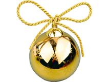 Рождественский шарик Gold, золотой фото